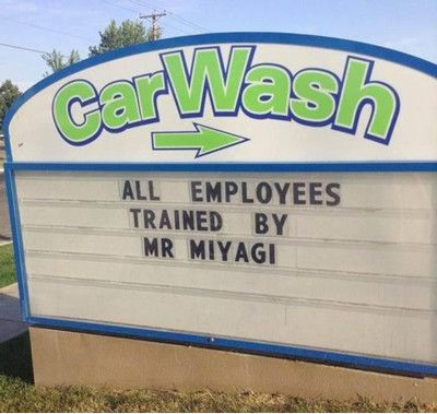 Car Wash Signs Work Well But Only When Done Right Thanx