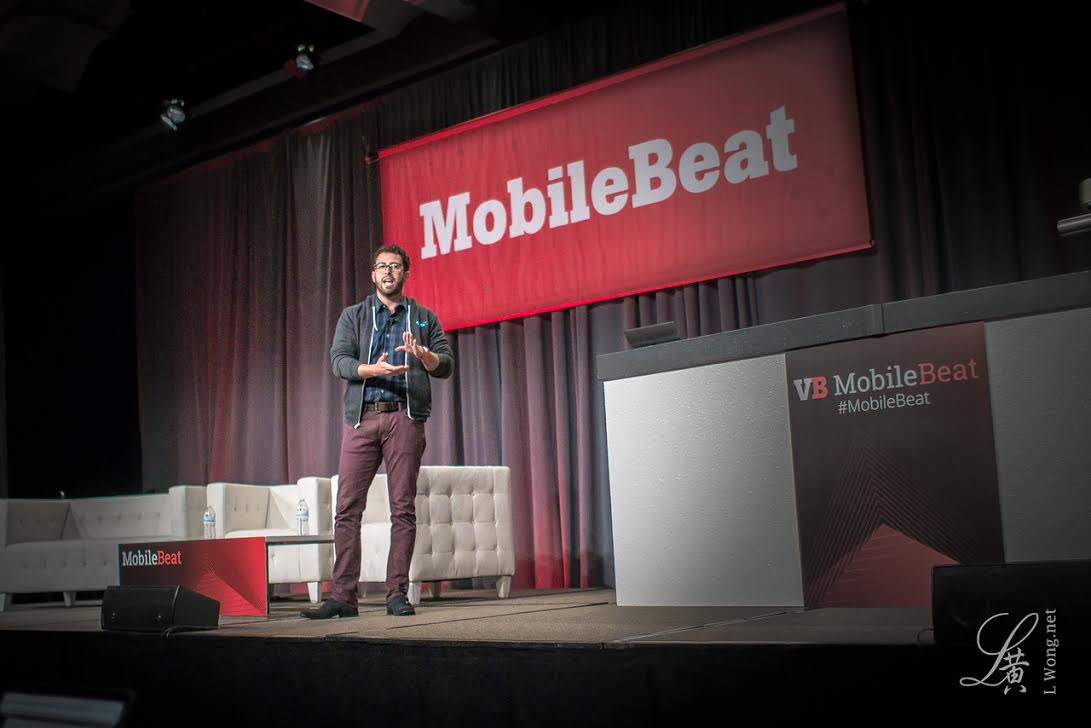 Zach from Thanx presents at Mobile Beat