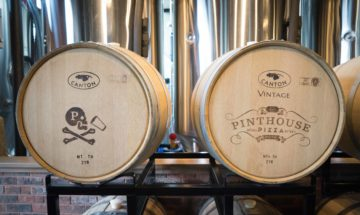 Pinthouse barrels