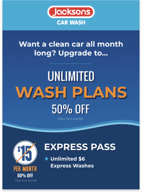 Jacksons Car Wash Partners With Thanx To Drive Unlimited Memberships