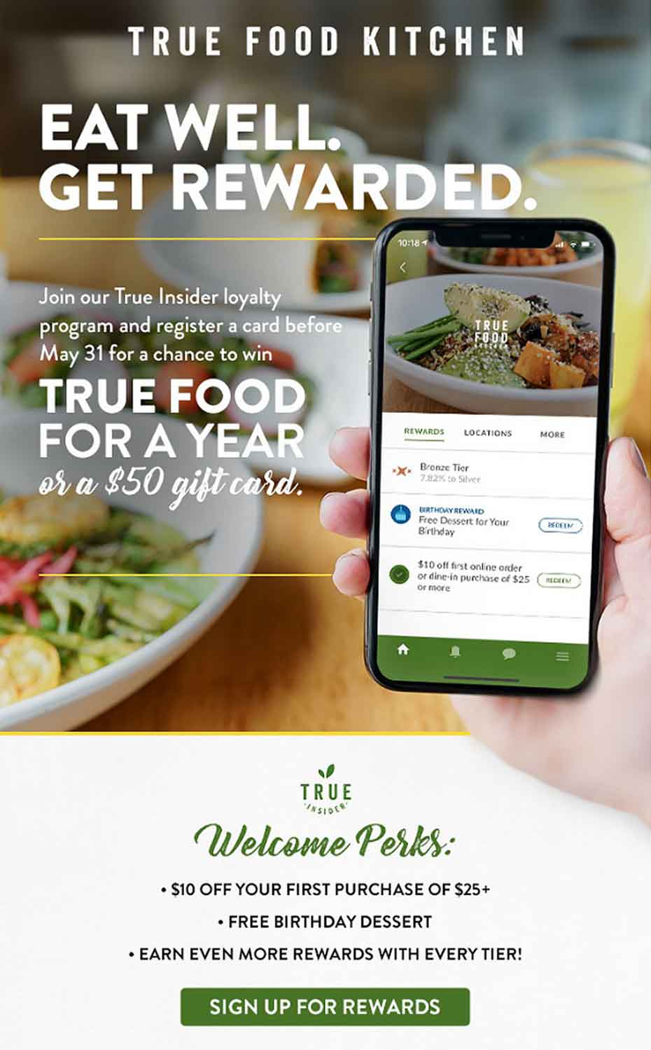 True Food Kitchen Partners With Thanx To Personalize