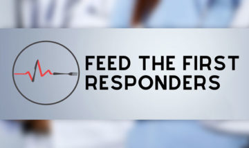 Qu POS Feed the Frontline Responders campaign