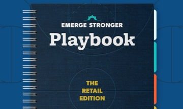 Emerge Stronger Playbook Retail mock-up