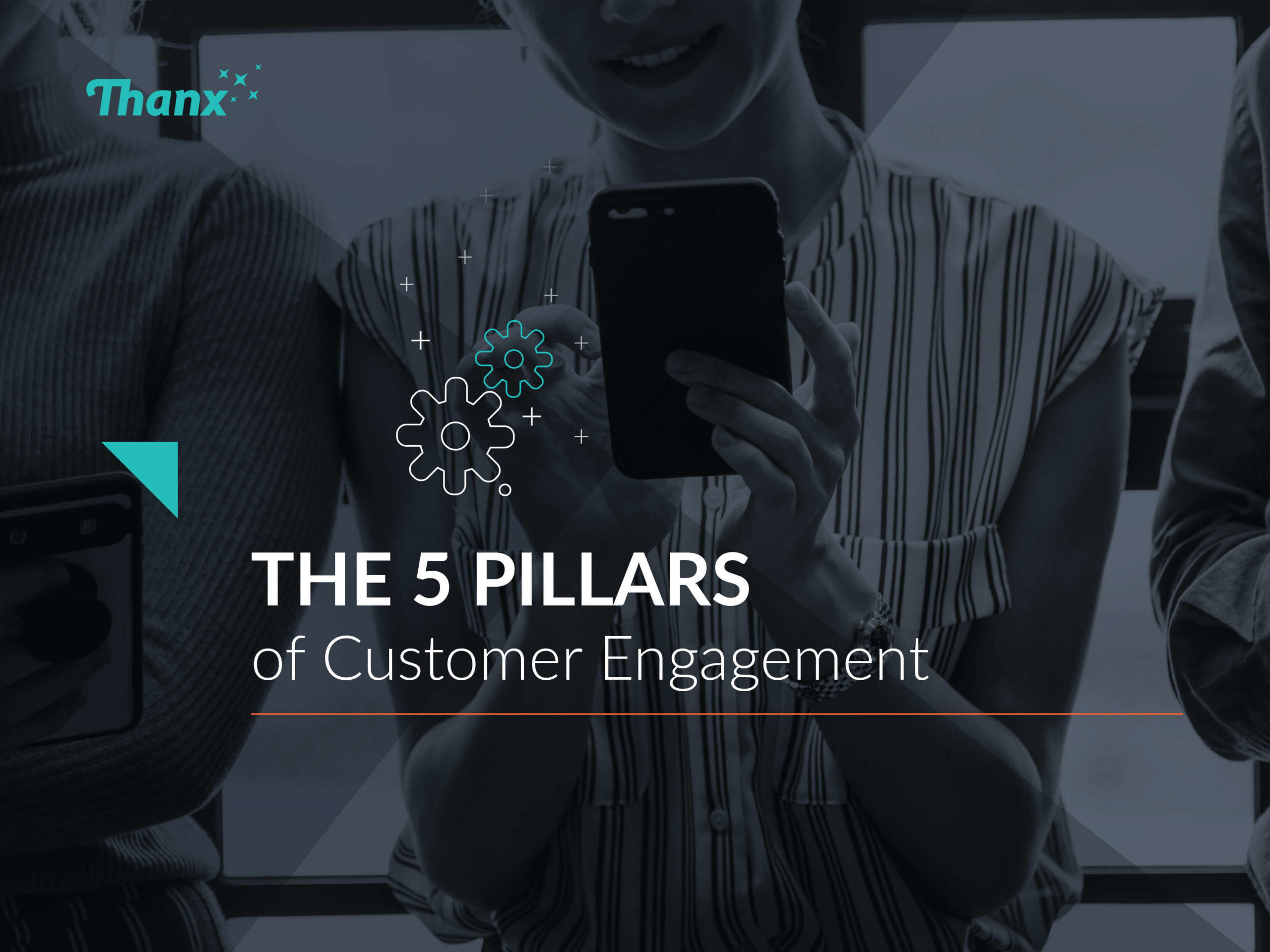 The 5 Pillars of Customer Engagement Marketing Cover with Title