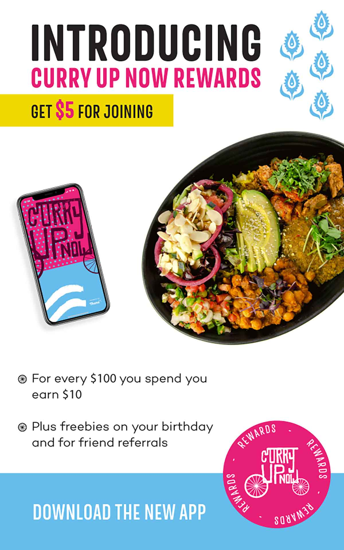 Curry Up Now: Email - New App