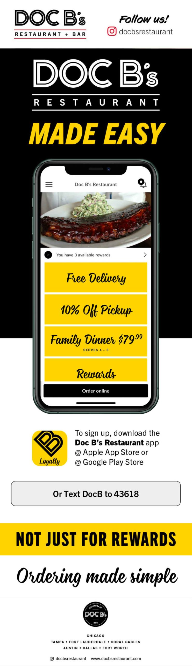 Doc B's: App Made Easy Email
