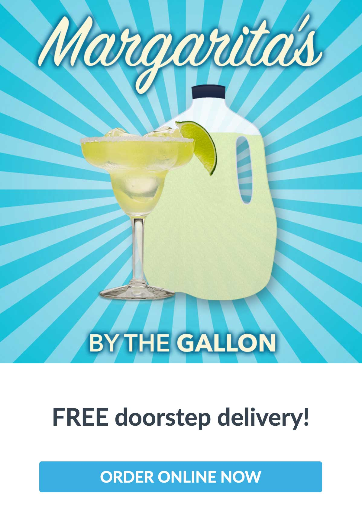 EVO Margaritas by the gallon email