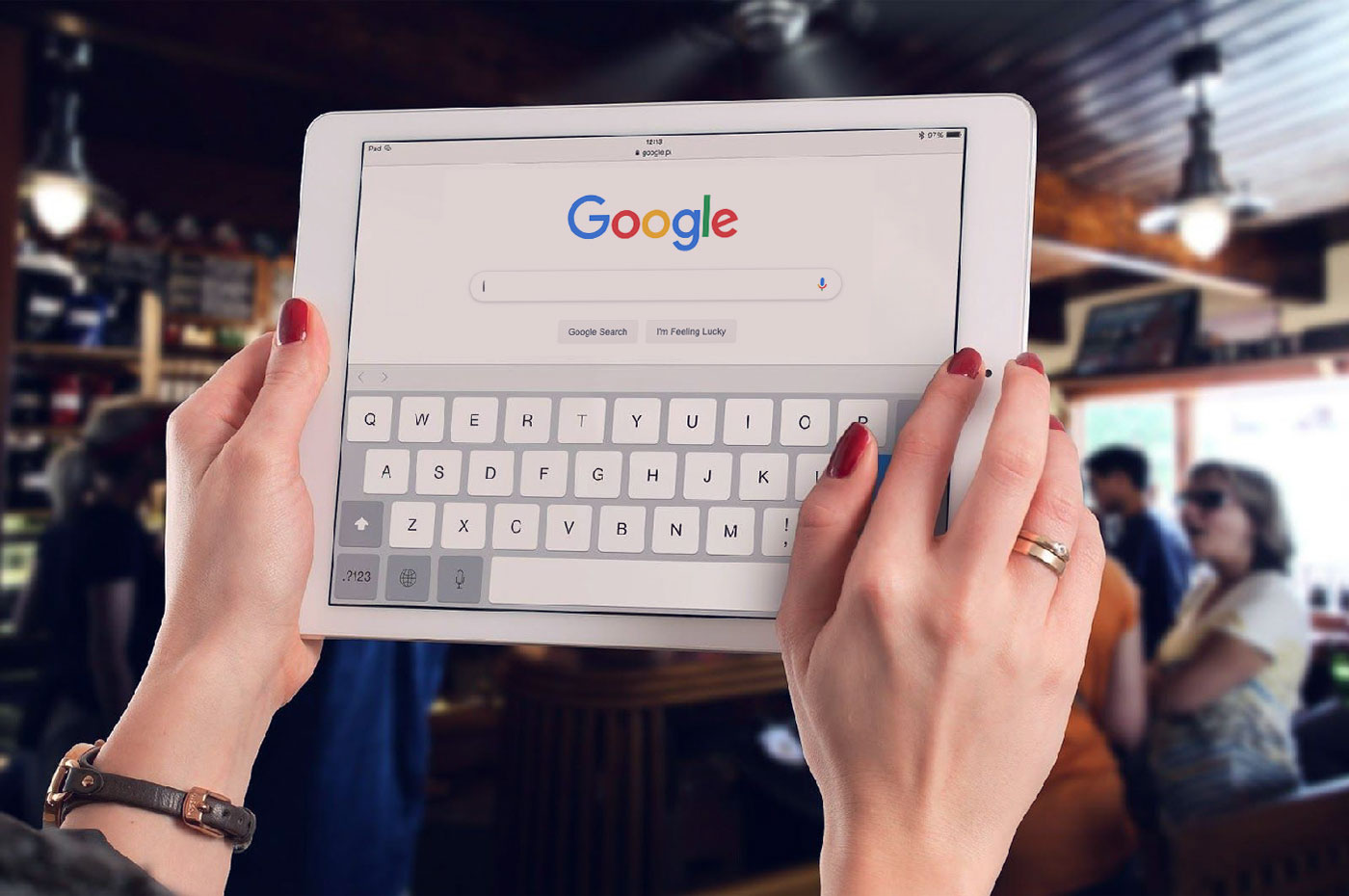 Search engine optimization on tablet