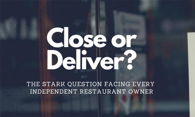 Close or deliver