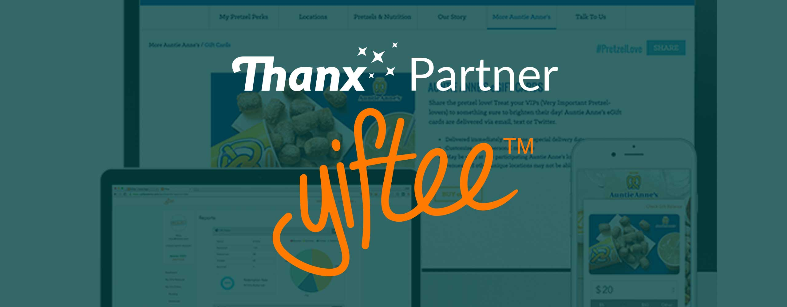 Thanx partners with Yiftee for gift cards