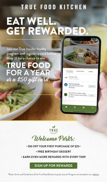 True Food Kitchen email