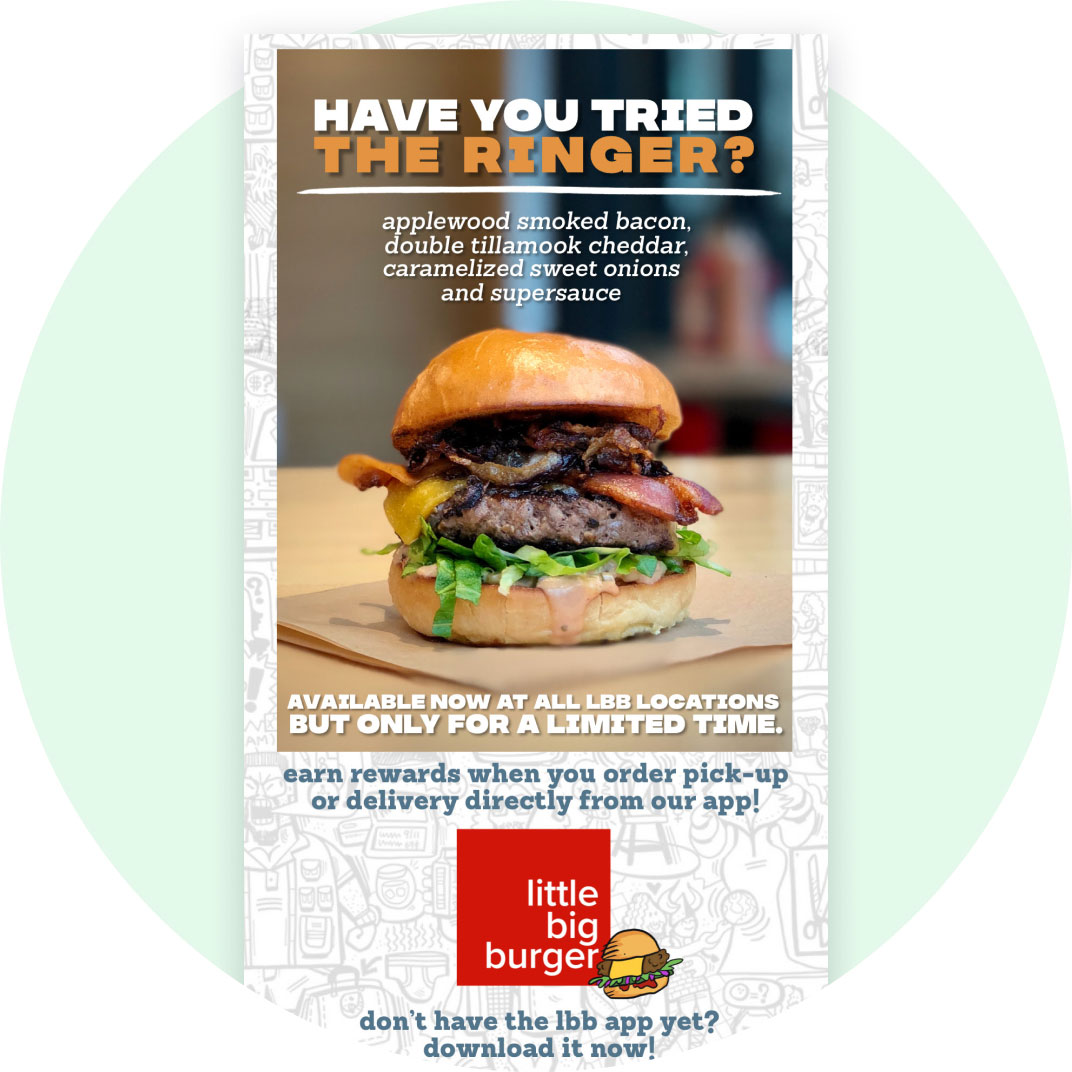 Email from Little Big Burger