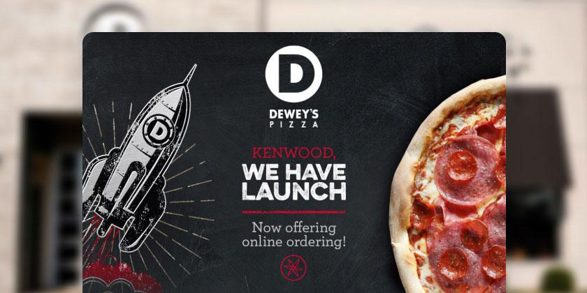Dewey's Pizza email thumbnail