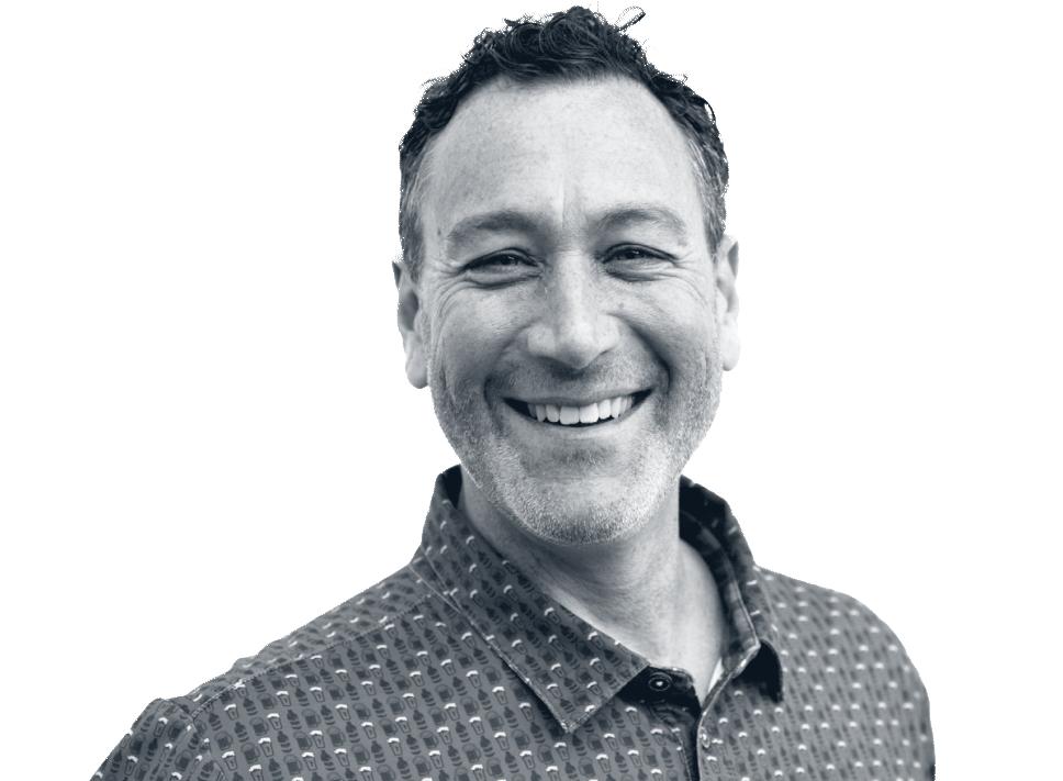 Black & White Headshot of Fred Glick